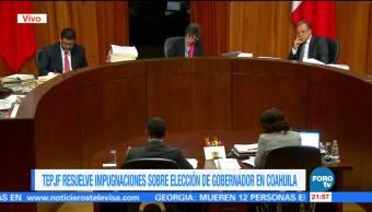 TEPJF determina que Miguel Ángel Riquelme no rebasó topes de campaña