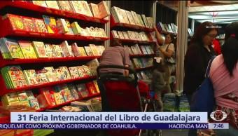 Despierta con Cultura: 31 Feria Internacional del Libro de Guadalajara