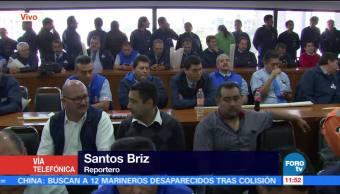 Esperan a Meade en la Confederación de Trabajadores de México (CTM)