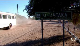 Caminan 30 km para conseguir agua en Sonora