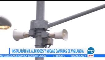 Extra Extra: Mil altavoces y nuevas cámaras de vigilancia en CDMX