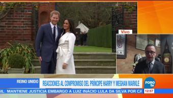 """La historia de """"amor real"""" entre el príncipe Harry y la actriz Meghan Markle"""