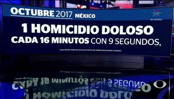 2017 el año más violento en la historia de México