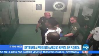 Detienen a asesino serial en Florida
