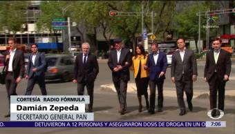 Damián Zepeda admite que el Frente Ciudadano no sabe como elegirá candidato