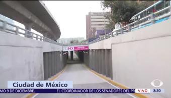 Entra en funcionamiento el desnivel Picacho de la CDMX