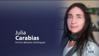 Julia Carabias recibirá la Medalla Belisario Domínguez