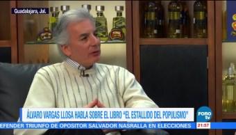 'El estallido del populismo' de Álvaro Vargas Llosa