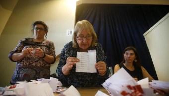 Termina votación para las elecciones generales en Chile