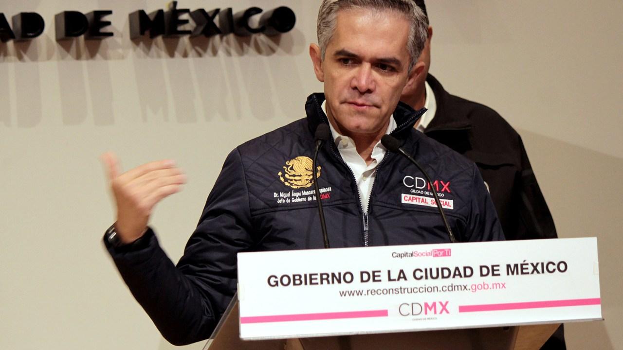Mancera pide que acuerdos frente PAN, PRD y MC sean por escrito