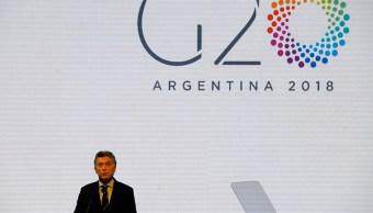 Argentina asume presidencia del G20 como puente entre Suramérica y el mundo