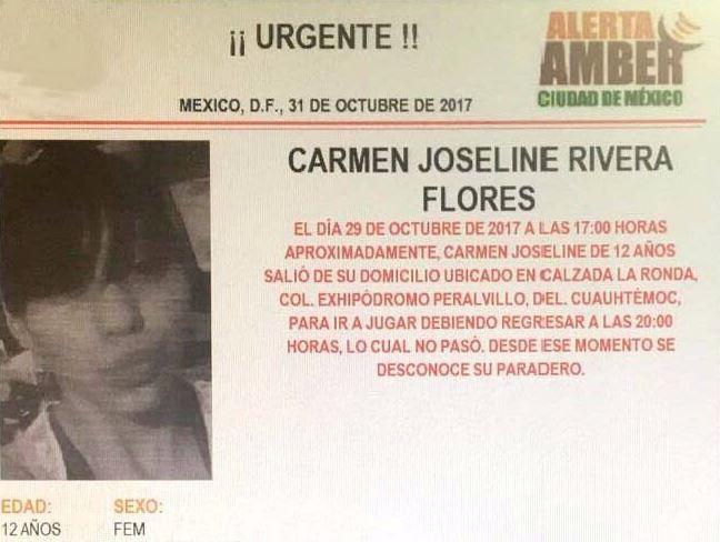 activan alerta amber en la ciudad de méxico