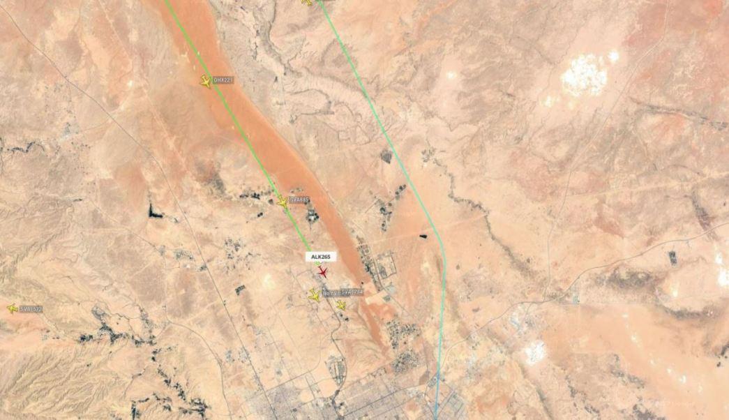 Reportan fuerte explosión en el aeropuerto de Riad, Arabia Saudita