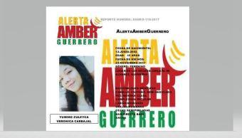 Alerta Ámber por otra menor desaparecida en Chilapa, Guerrero