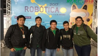 Estudiantes de Campeche ganan concurso de robótica en Brasil