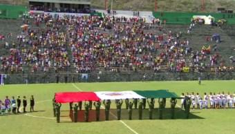 leyendas america partido damnificados morelos xochitepec