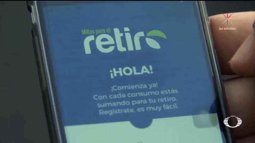 App para ahorrar mientras se gasta Millas para el Retiro