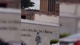 Difunden video de asalto a automovilista en Avenida Patriotismo