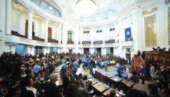 asamblea legislativa descontara bancada morena ausentismo