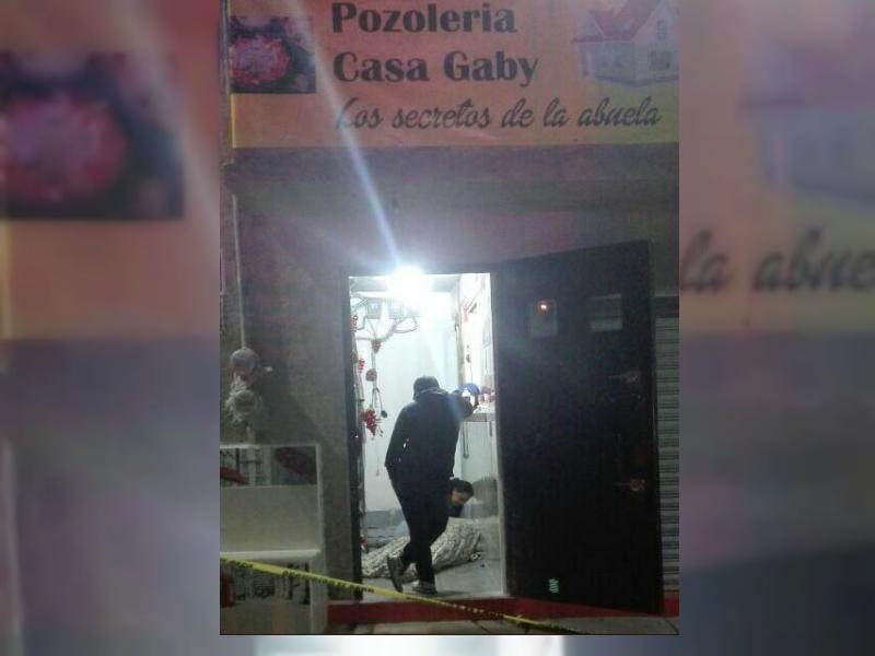 asesinan a un hombre dentro de un restaurante en naucalpan