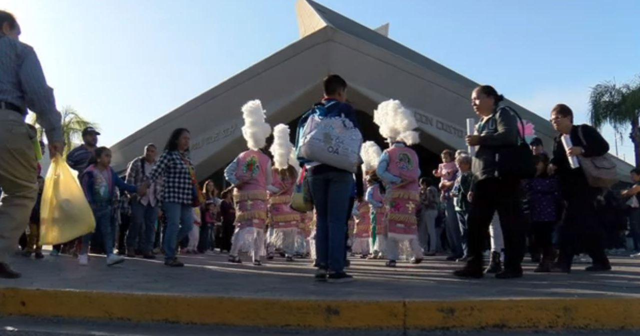 Aumenta la cantidad de peregrinos en Monterrey