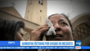 Aumenta Número Muertos Ataque Mezquita Fiscal General Egipto