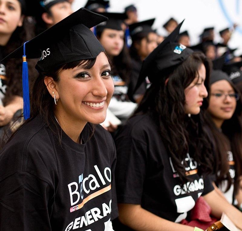becalos apoya a miles de estudiantes y maestros