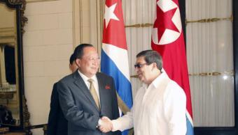 Cuba y Norcorea se reúnen plena crisis Estados Unidos