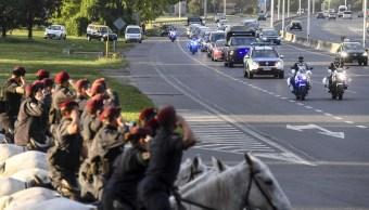Llegan a Argentina cuerpos de víctimas de atentados en Nueva York