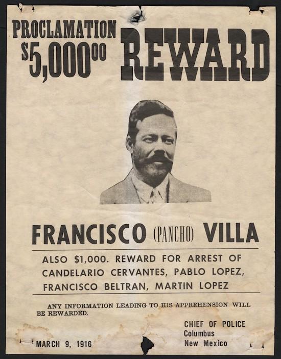 Cartel Pancho Villa