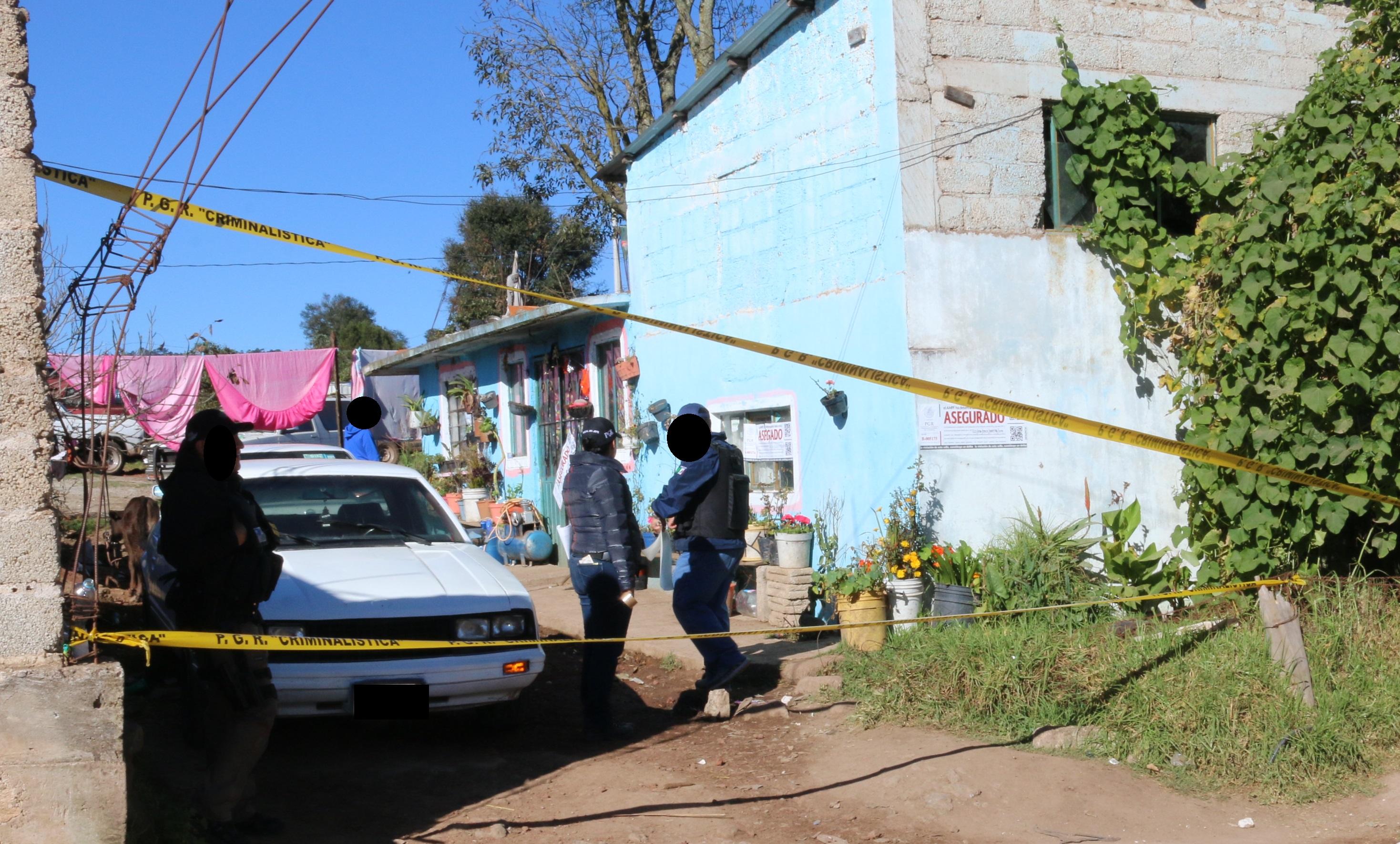 Detienen a 15 personas durante 5 cateos simultáneos en Hidalgo