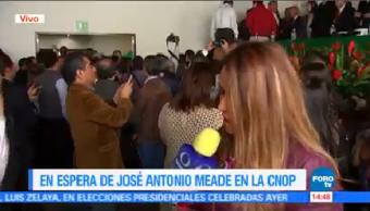 Cnop Espera Llegada José Antonio Meade Miembros