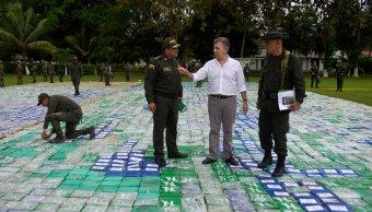 Colombia incauta más 12 toneladas cocaína Clan Golfo