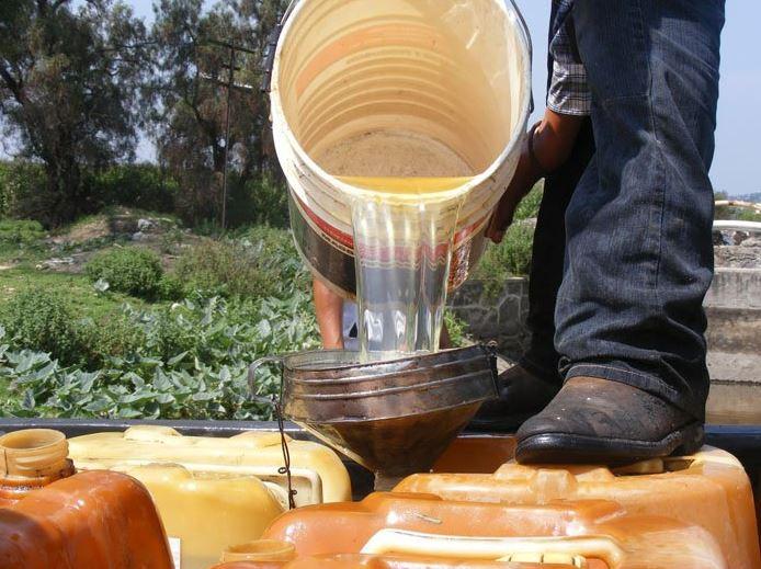 Asegura SSP 10 mil litros de combustible robado y 3 vehículos