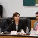 Comparece Rosario Robles ante la Cámara de Diputados