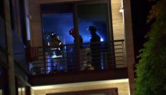 Conato de incendio en oficina de Lomas de Chapultepec moviliza servicios de emergencia