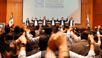 Consejo del PAN aprueba ir en coalición para formar parte del Frente
