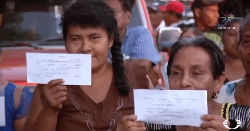 Damnificados del sismo en Chiapas denuncian al presidente municipal por desviar recursos