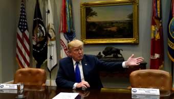 Trump califica débiles líderes demócratas cancelar reunión