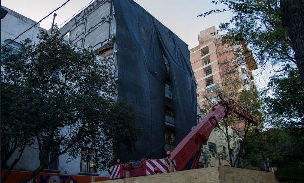 Demolición de edificio de Sonora 149 en 100 días: obras