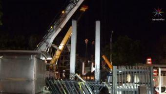 Desmontan puente peatonal en la CDMX para mejorar movilidad