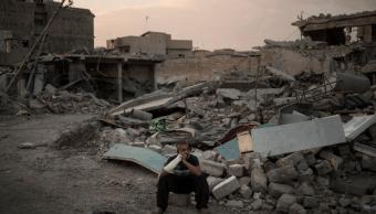 Destrucción en Mosul tras la expulsión del Estado Islámico