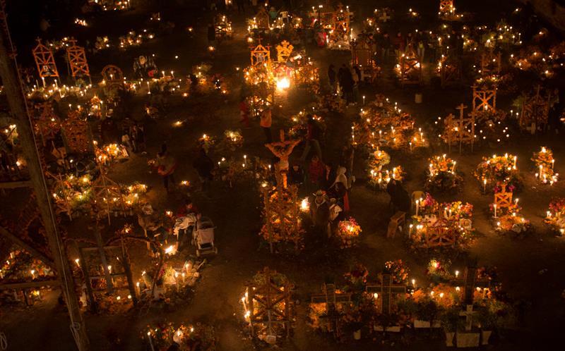 Pátzcuaro, Michoacán, sitio emblemático de Día de Muertos