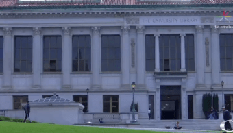Edificio de la biblioteca de la Universidad de Berkeley, en California
