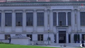 Edificio de la biblioteca de la Universidad de Berkeley, en California