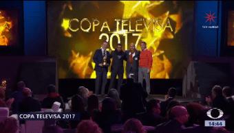 Señor Azcárraga Entrega Copa Televisa 2017 Emilio Grupo Televisa