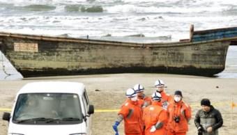 Hallan cadáveres en embarcación en Japón; podrían ser norcoreano