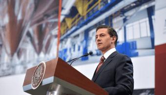 El presidente Enrique Peña Nieto celebra la aprobación unánime en el Senado de la República del Tratado sobre la Prohibición de las Armas Nucleares. (Archivo/Facebook)