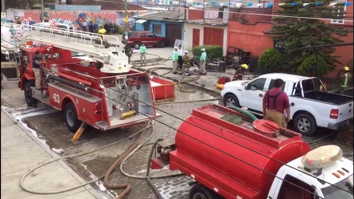 Explota taller de pirotecnia en San Cristóbal de las Casas