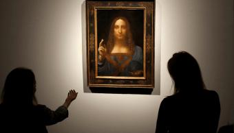 Exhibicion de Salvator Mundi, de Leonardo Da Vinci